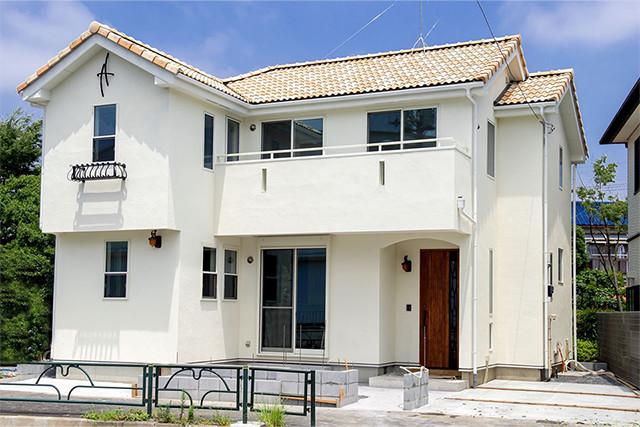 チーム家づくりの新築分譲住宅「LaVraie」の外観
